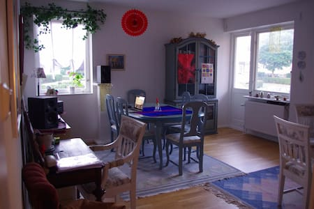 Bright & spacious appartment near to the centre - Ystad - Apartamento