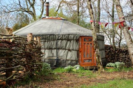 Yurt & traditional sauna in nature - Jurta