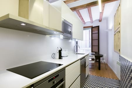 Cozy double room Cathedral + wifi - Barcellona - Appartamento