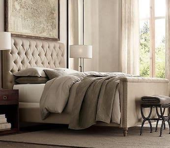 Sfeervolle luxe zonnige kamer met prive ingang - Bonnes - Bed & Breakfast