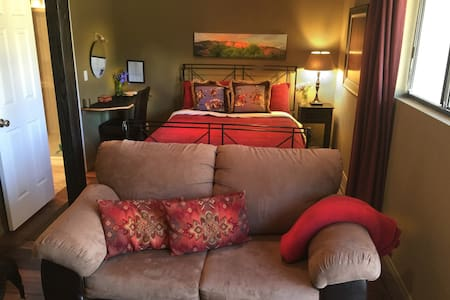 Upper Ojai suite private entrance - Ojai - Dom