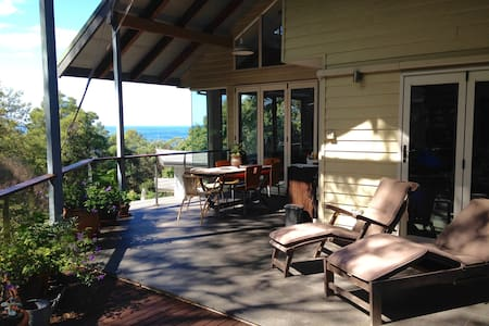 Ocean views, native birds and trees - Bed & Breakfast