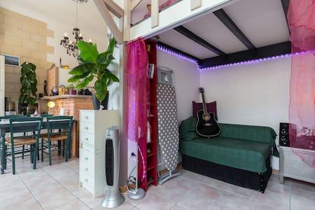 Beaulieu Gd Studio lumineux-calme - Apartment