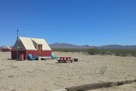 Pioneer Eco-Lodge in Nipton, CA - San Bernardino County - Skáli