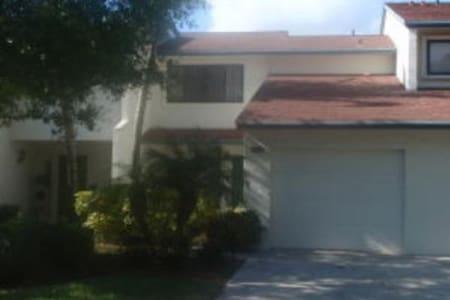 Palm City FL Townhouse 2/2 Garage - Sorház
