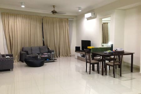 500M TO KL SENTRAL +FREE WIFI - Apartment