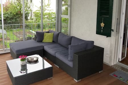 Möblierte 3.5-Zimmer Wohnung im Zentrum von Lyss - Appartement