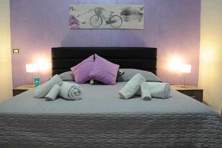 Daphne B&B: camera viola a 300 mt dalla spiaggia - San Vito Lo Capo - Bed & Breakfast