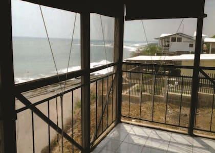 Beachfrnt Home La Boquita Nicaragua - Haus