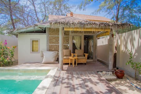Villa DuaSembilan -Tropical villa in beachfront! - North Lombok Regency - Villa