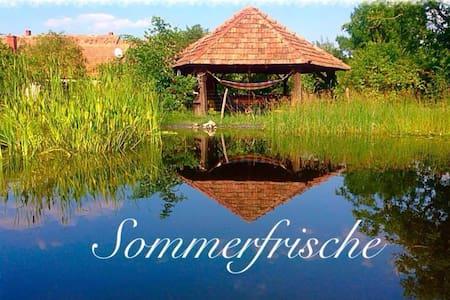 Gartenparadies mit Badeteich - Ebergőc - Dom