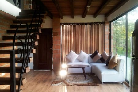 Casa cabaña en jerico ..hermosa - Cottage