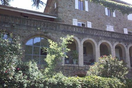 Chambre de Charme dans Mas XVIIème proche Ardèche - Saint-Jean-de-Valériscle - Guesthouse