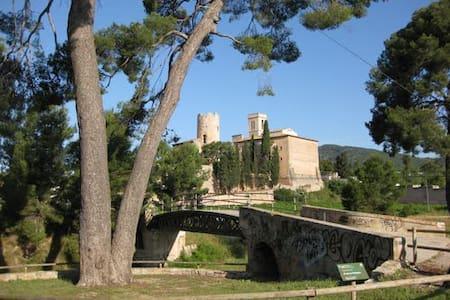 Habitación doble cama de matrimonio - Sant Pere de Ribes - House