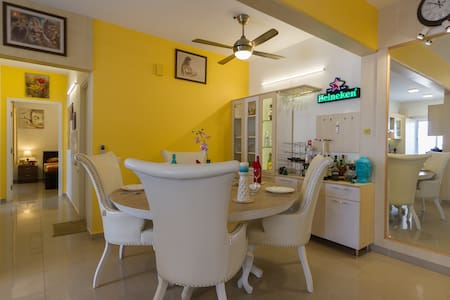 Private Room with Hill View,Near Bangalore Airport - Bangalore - Appartement