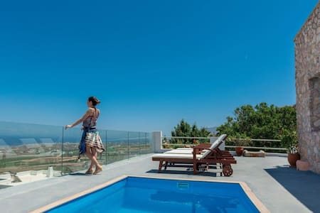 Dream Villa with pool & stunning view - Villa