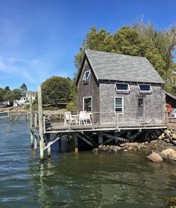 the Fish House, waterfront, Cape Porpoise - Кеннебанкпорт