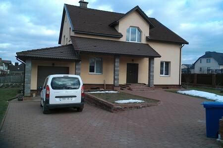 Дом Рыжего Кота в 3км от Минска - Haus