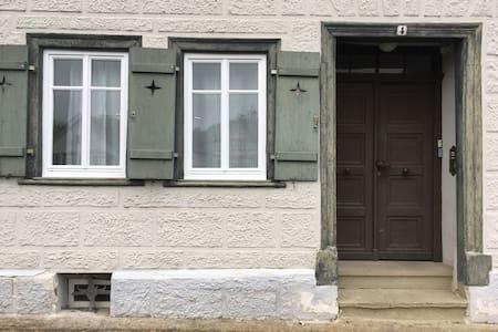 Wohne direkt in der Altstadt von Schwäbisch Hall! - Appartement