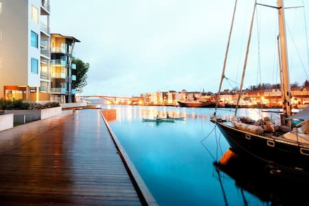 Live by the sea in town - Apartamento