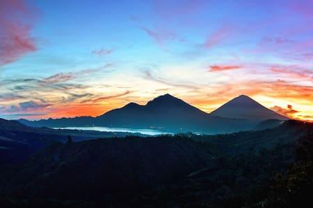 Mount & Lake Batur Campground - Zelt
