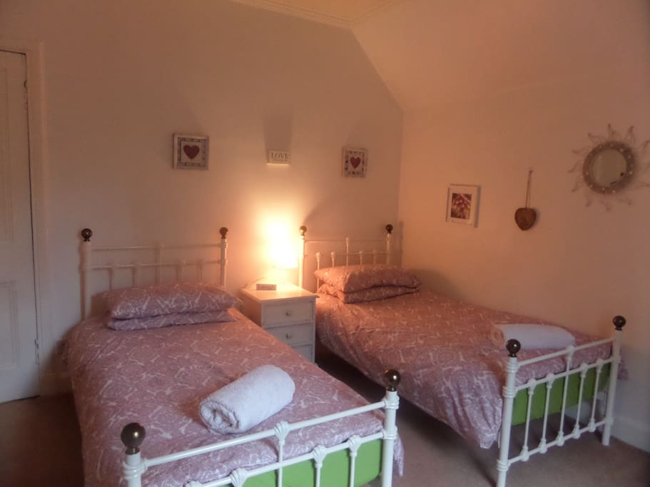 Twin/double  room for you !