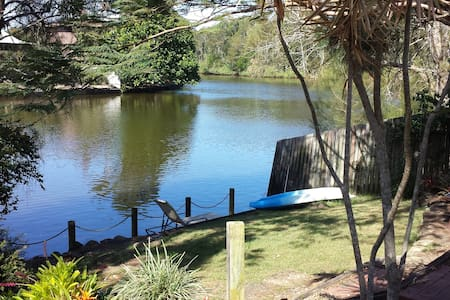 Water frontage, pool, SPLENDOUR - House
