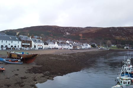 5 Bedroom Cottage in Ullapool, Wester Ross - Hus