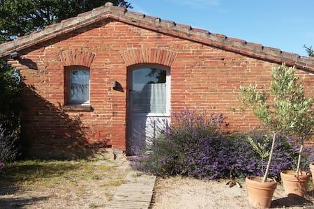 Ermitage sur les coteaux du Lauragais, Toulouse - Baziège - Huis