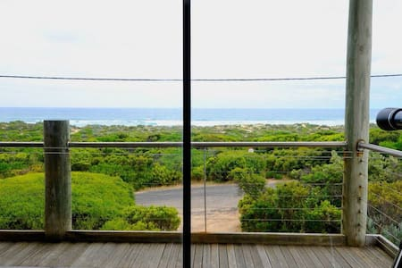 The Shack - OCEAN VIEWS & 300 steps to shoreline! - St Andrews Beach - House