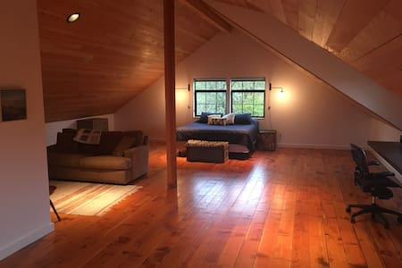Modern Country Loft Near OSU - Philomath - Ház