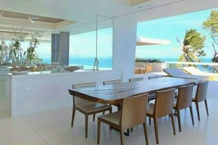 3200 SF Panoramic sea view 3 bedrooms 恩納村 F 上 - Kunigami District - Şehir evi