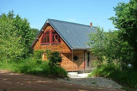 Chalet de la Serrée - Alligny-en-Morvan - Lodge immerso nella natura