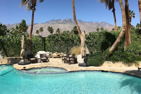 Casa Cerritos, the Blue Guest Room - Palm Springs