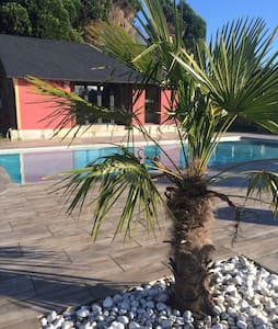Maison piscine - Vatteville-la-Rue
