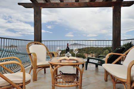 Panoramico appartamento vista mare - Santa Maria Navarrese - Wohnung