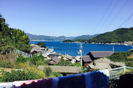 Remote areas of EHIME.Just sea and mountain. - Dům pro hosty