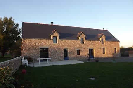 gîte l'Abri Côtier Geffosses - Haus