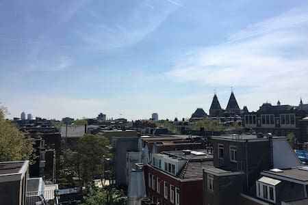 Clean Penthouse with roof terrace in the center! - Amsterdam - Apartment