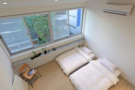 【全新開幕】快活慢行Hii-HUBS Loft 4人房 台南 中西區 - South District - Minsu (Taiwan)