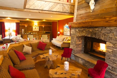 Black Diamond Lodge - Sainte Foy - Lomamökki