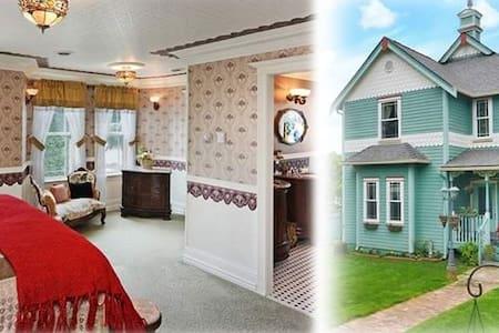 Modern Victorian - Master Bed&Bath - Σπίτι