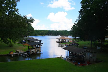 Beautiful 2 BR & Den Lake Gaston Waterfront! - Henrico - Casa
