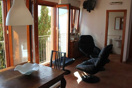 Cosy front line studio apartment with sea view - Finestrat
