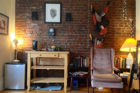Chez Vidal, Beautiful Apt In The Heart of Union Sq - Somerville - Wohnung