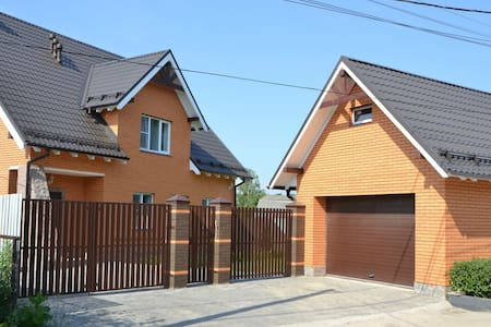 Новый кирпичный дом ! - House