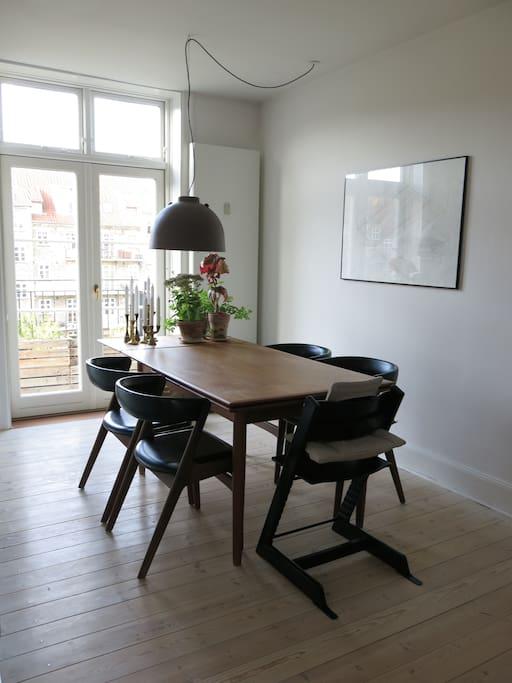 Own floor in Vesterbro penthouse