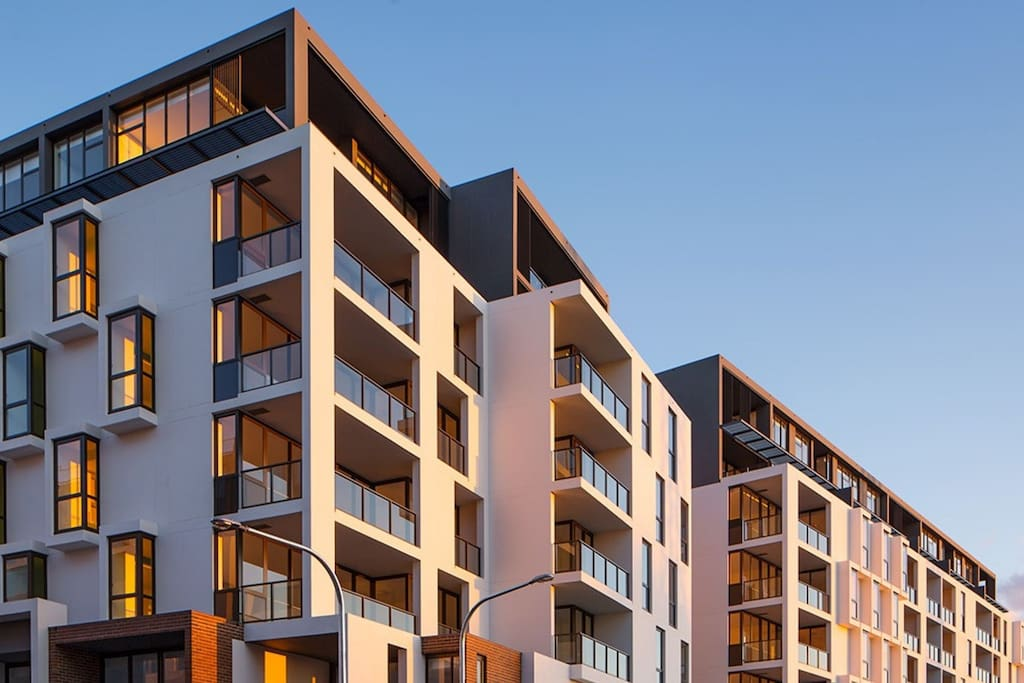 Brand New Apartment Building 2km from CBD