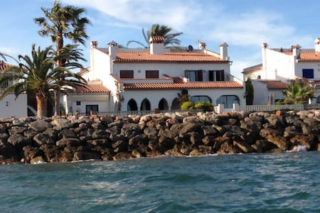 Seafront house, casa primera linea de mar. - Mont-roig Bahia