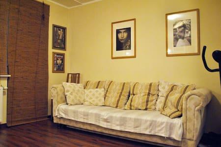 30 m2 ze świetną komunikacją i wielką wanną - Apartment